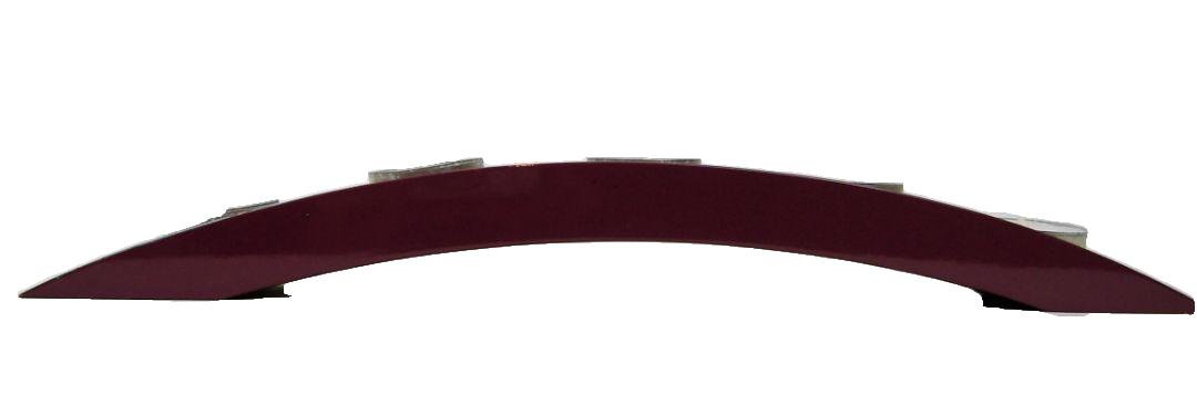 Purple lily wooden lacquer bridge tealight holder