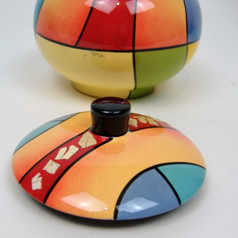 Picasso wooden lacquer trinket box