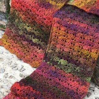 Hand-crocheted scarves - Made in Cornwall